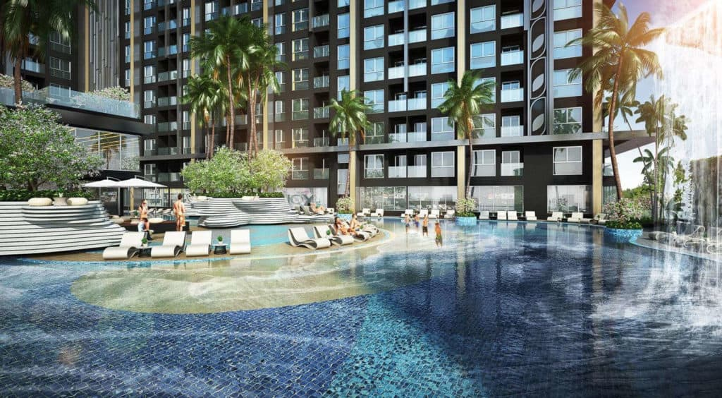 Grand Solaire Pattaya Facility - Pool