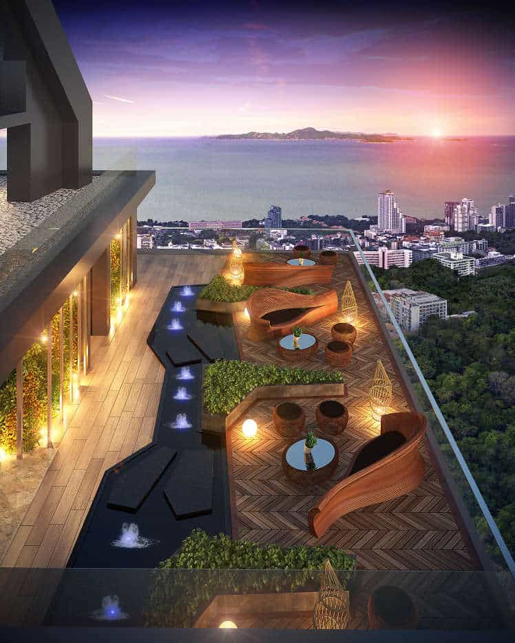 Grand Solaire Pattaya Facility - Roof Deck