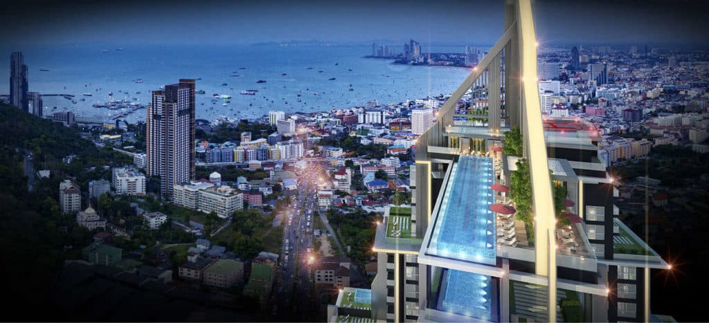 Grand Solaire Pattaya Facility - Roof Pool
