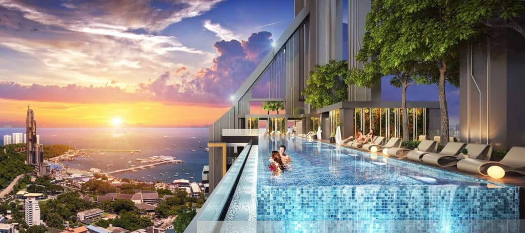 Grand Solaire Pattaya Facility - Roof Pool 2